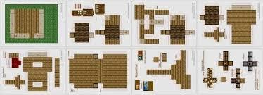 Minecraft Papercraft House