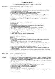 Download Licensed Vocational Nurse Resume Sample As Image File