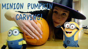 Minion Pumpkin Carvings Patterns by How To Carve A U0027despicable Me U0027 Minion Pumpkin Youtube