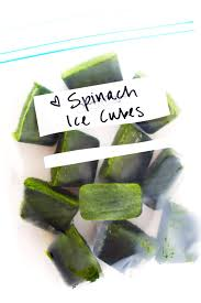 Freezing Pumpkin Puree For Smoothies by How To Make Frozen Spinach Cubes For Green Smoothies Gimme
