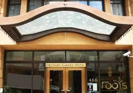 The Orchard Garden Hotel San Francisco CA