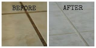 how to clean floor tile grout in bathroom how to paint and seal