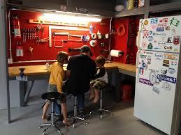 garage garage workbench ideas woodworking benches wood