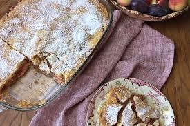 gedeckter pfirsichkuchen einfach und lecker backen mit
