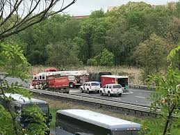 Teacher, Student Killed After School Bus And Truck Collide In New ... Union Firefighters Extricate Driver From Rt 78 Truck Accident 11815 Nj Turnpike I95 Crash Black Ice Trailer Flip Youtube Chesterfield Animation 3 People Killed In Involving Ctortrailer On I280 East Garbage Truck Crashed Into A Wooded Area Of Goffle Brook Park In Man Dies With New Jersey Police Nbc Crashes After Losing Brakes On Hill Hawthorne 1 Dead Overturned Flyengulfed Dump Shuts Down Two 43 Injured School Bus Torn Apart Crash Tractor Trailer Overturns Route 55 Harrison Twp Gloucester 322 Reopens Headon Logan 6abccom