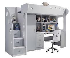 lit bureau armoire combiné lit combi bureau armoire rangements lit combiné