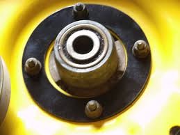John Deere Stx38 Yellow Deck Removal by Amazon Com John Deere Mower Deck Reinforcement Ring Home Improvement