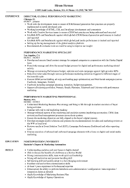 Performance Marketing Resume Samples | Velvet Jobs Resume Sample Rumes For Internships Head Of Marketing Resume Samples And Templates Visualcv Specialist Crm Velvet Jobs How To Write A That Will Help Land Your Skills 2019 Are You Qualified Be Hired Complete Guide 20 Examples Spin For Career Change The Muse Top To List On 40 8 Essential Put On In By Real People Intern