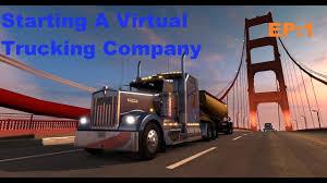 100 Starting A Trucking Company EP1 Merican Truck Simulator