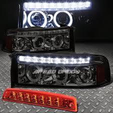 SMOKED DUAL HALO PROJECTOR+LED HEADLIGHT+RED 3RD BRAKE&CARGO LIGHT ... Dodge Ram Projector Headlights Truck Car Parts 264191cl Smoke 02017 1500 2500 3500 Headlightsled Tail Lights Light 05 Srt10 Commemorative Edition Hit Rebuildable Amazoncom For 2nd Gen Brbe Smoked Lens Clear Corner Cheap Find Deals On 2016 Ram Rebel By Geigercarsde Used 2008 47l Subway Oled Taillights 264336bk Recon 2017 Rebel Mojave Sand Limited Mopars New Parts Will Make The 2019 Heavily Customizable