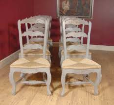 100 Repurposed Table And Chairs English Farmhouse Painted Ladderback Chair Set EBay
