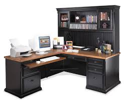 Altra Chadwick Collection L Desk Virginia Cherry by Furniture L Shaped Desk With Hutch For More Efficient Workspace