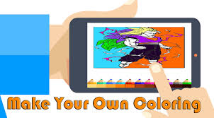 Super Saiyan DBZ Coloring Book Apps Apk Free Download For Android PC