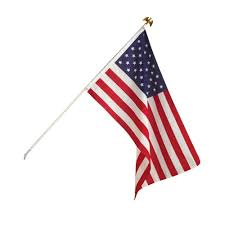 Seasonal Designs 3 ft x 5 ft U S Flag Kit US200 The Home Depot