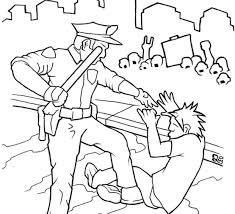 Coloring Book Images Occupy Wall Street Sympathizer Creates Police Brutality