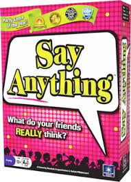 Say Anything By North Star Games Fun