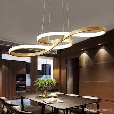 großhandel kunst und design shaped concise moderne led len wohnzimmer pendelleuchte bekleidungsgeschäft bar kreative esszimmer led kronleuchter