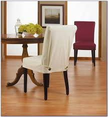 White Linen Dining Room Chair Covers Home
