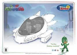 To The Gekko Mobile Pjmasks Disneyjunior