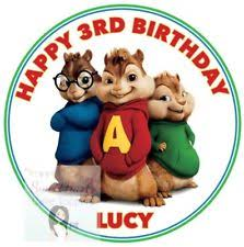 Alvin And The Chipmunks Cake Decorations by Unbranded Tv U0026 Celebrities Cake Toppers Ebay