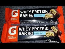 MTS Whey VS Gatorade Protien Bars