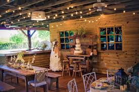 The Old Grove Wooden Barn Wedding Venue Inside