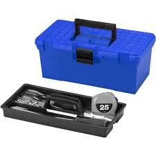 Hypertough HYST16005B Blue 16-Inch Toolbox - Walmart.com