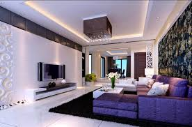 Grey And Purple Living Room Wallpaper by Bedroom Divine Purple Living Rooms Room Accents And Cream White