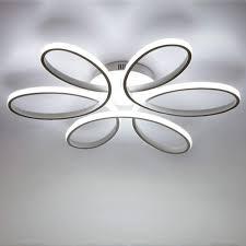 led 85w deckenleuchte kreative blume shape deckenl acryl