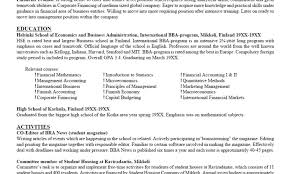 Resume Cover Letter In Email Format Creative Resume ... Extrarricular Acvities Resume Template Canas Extra Curricular Examples For 650841 Sample Study 13 Ideas Example Single Page Cv 10 How To Include Internship In Letter Elegant Codinator Best Of High School And Writing Tips Information Technology Templates