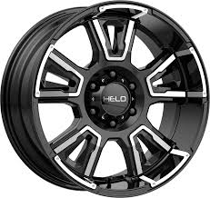 100 Helo Truck Wheels Chrome And Black Luxury