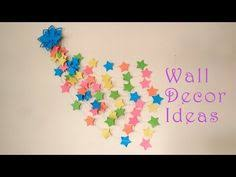 DIY Wall Hanging Craft Ideas Using Colorful Paper Hangers For Room