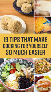 19 Easy Single Person Cooking Ideas That Wont Waste Food Or Get Boring