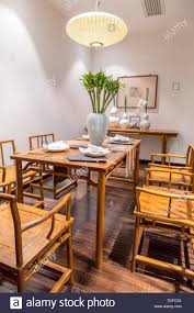 Modern Chinese Dining Room Wood Furniture Stock Photo ... Amazoncom Cjh Nordic Chinese Ding Chair Backrest 66in Rosewood Dragon Motif Table With 8 Chairs China For Room Arms And Leather Serene And Practical 40 Asian Style Rooms Whosale Pool Fniture Sun Lounger Outdoor Chinese Ding Table Lazy Susan Macau Lifestyle Modernistic Hotel Luxury Wedding Photos Rosewood Set Firstframe Pure Solid Wood Bone Fork