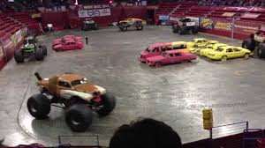 100 Monster Trucks Green Bay Jam Wheelie Compilation HD YouTube