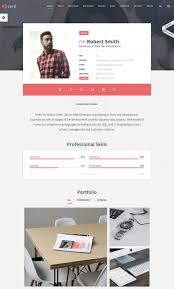 Labeled Best Personal Resume Website My About Builder