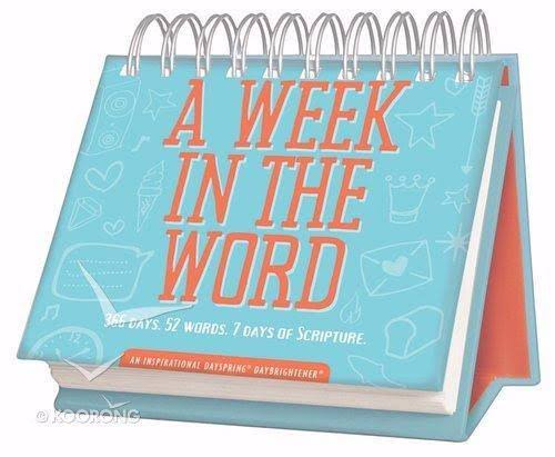 Dayspring Cards 175752 Calendar-A Week in The Word - Day Brightener