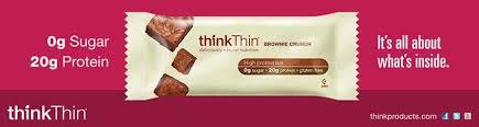 Amazon ThinkThin Variety Pack Chunky Peanut Brownie Crunch