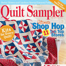 Quilt Sampler Table of Contents Spring Summer 2011