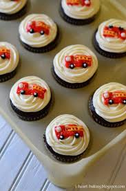 11 Cupcakes Arranged Like A Fire Truck Photo - Fire Truck Cupcakes ... Fire Engine Cupcake Toppers Fire Truck Cupcake Set Of 12 In 2018 Products Pinterest Emma Rameys Firetruck 3rd Birthday Party Lamberts Lately Fireman Firehouse Etsy Monster Cake Ideas Edible With Free Printables How To Nest For Less Refighter Boy Truck Topper Image Rebecca Cakes Bakes Pin By Diana Olivas On Diana Cupcakes Fondant Red Yellow Rad Hostess The Mommyapolis