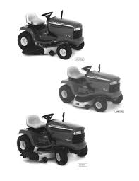 John Deere 48c Mower Deck Manual by John Deere Lt133 Lawn Garden Tractor Service Repair Manual