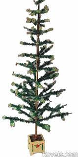 Silvertip Fir Christmas Tree by Antique Christmas Trees Silver Pewter Brass Copper Chrome