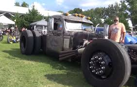 100 Rat Rod Semi Truck Video A Close Look At South Texas Performance Big Bertha