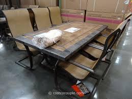 home design graceful patio dining sets costco elegant outdoor