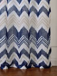 Chevron Print Shower Curtains by Marvelous Chevron Print Curtains And Chevron Print Shower Curtain