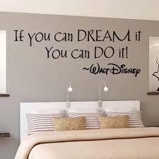 wenn sie können traum englisch brief wand aufkleber wohnzimmer englisch klassenzimmer schlafzimmer pvc wasserdichte wand poster hause dekoration