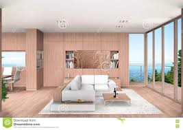 100 Contemporary Wood Paneling Living And Dining Room With Beech Stock