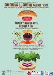 concours de cuisine concours de cuisine ados adultes autour du burger à nexon annule
