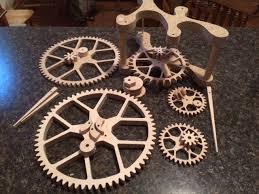 the shapeoko forum u2022 view topic wooden gear clock build log