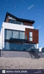 100 Sandbank Houses A Modern Beach House On S Beach Poole Dorset England UK